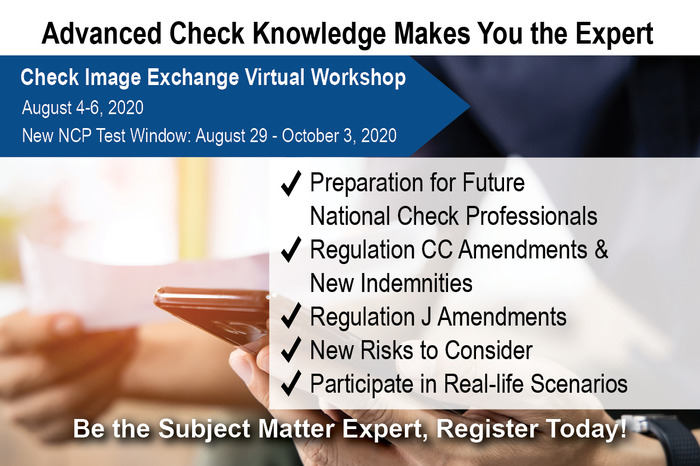 Check Image Exchange Virtual Workshop