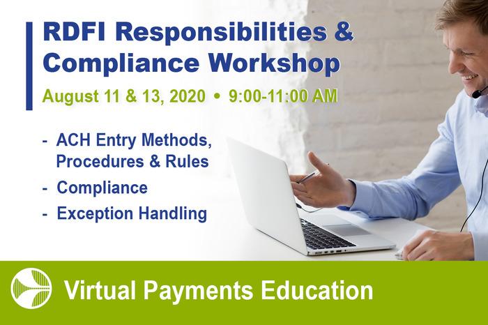 Log into the Virtual Class RDFI Risk & Responsibilities